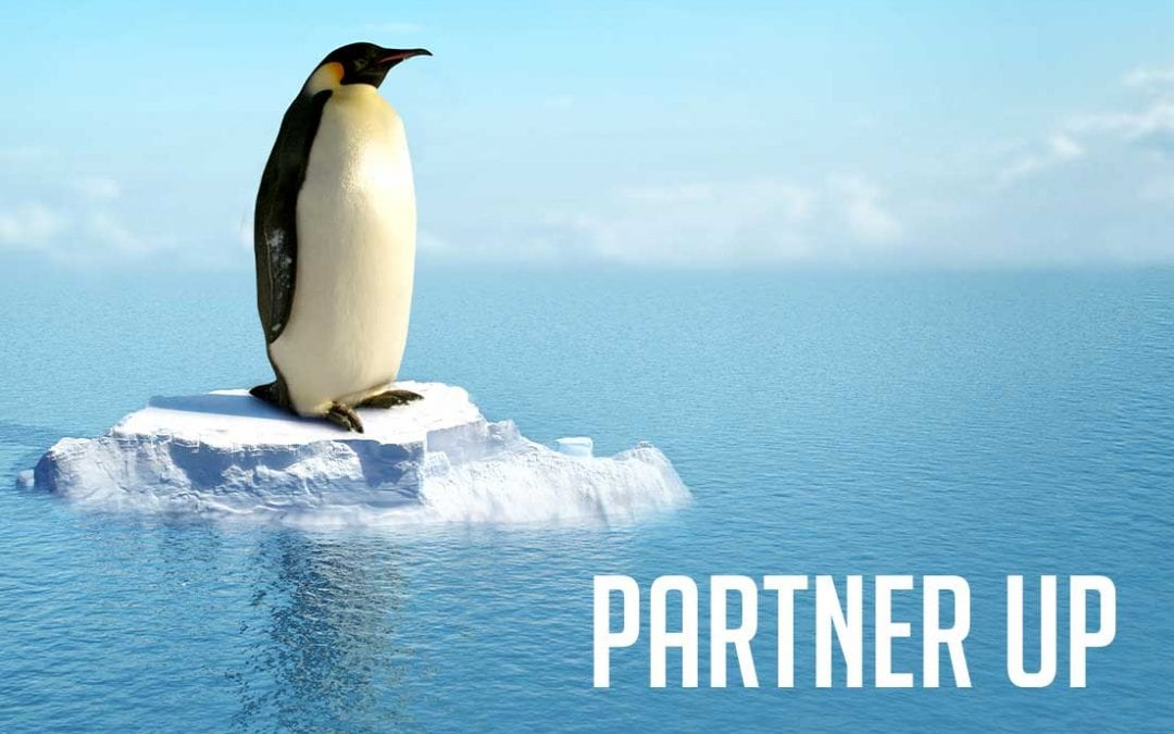 Partner Up. Having a Trusted Team Means You Don't Have to Manage Alone.